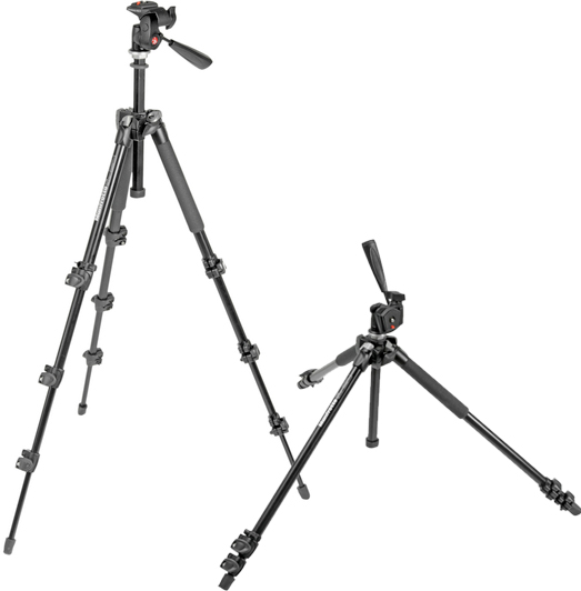 290 Series NEW Manfrotto MM294A3 294 Aluminium Camera Monopod 3 Sections