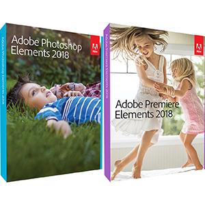 adobe photoshop & premiere elements 2018 upgrade