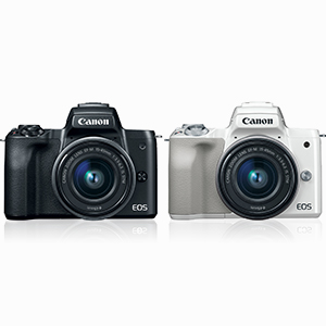 Canon EOS M50 Mirrorless Digital Camera with 15-45mm 2680C011