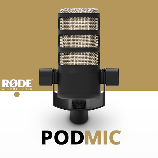 Rode PodMic Dynamic Podcasting Microphone PODMIC B&H Photo Video