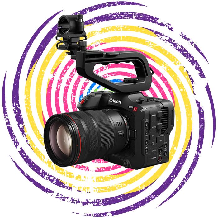 The Canon EOS C70 camera