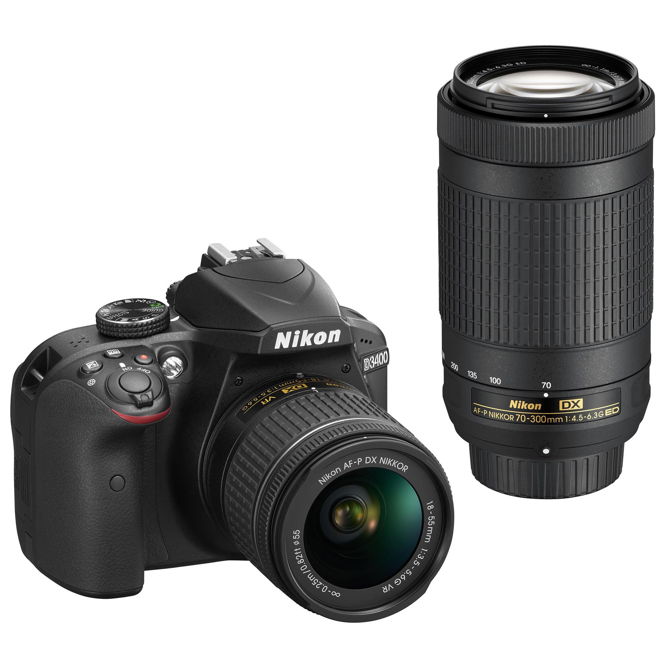 Nikon D3400 overview  sc 1 st  Bu0026H & Nikon D3400 DSLR Camera with 18-55mm Lens (Red) 1572 Bu0026H Photo azcodes.com