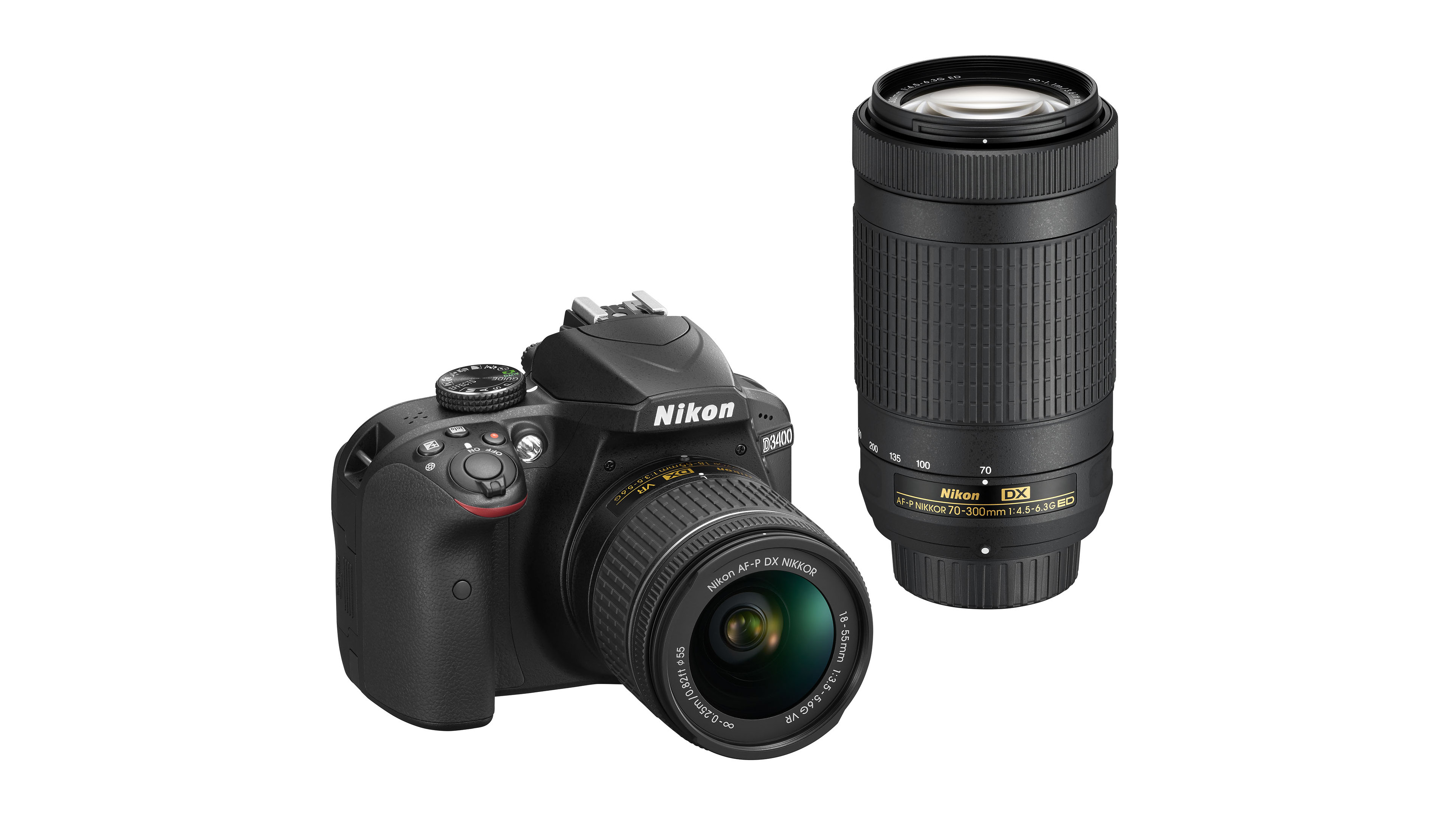 Nikon Adds Bluetooth to D3400 DSLR and Introduces AF-P Zoom Lenses ...