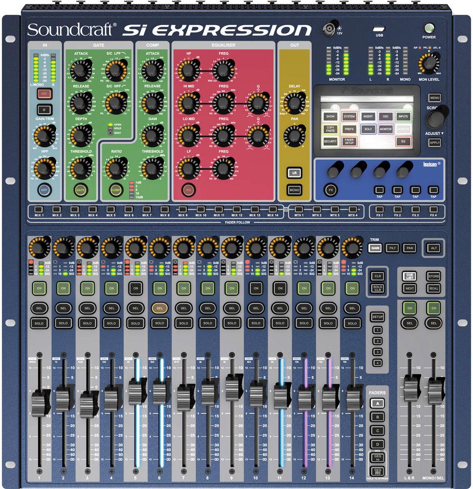 Digital Mixer Roundup Bh Explora Pa Interface Hookup Gearslutz Pro Audio Community