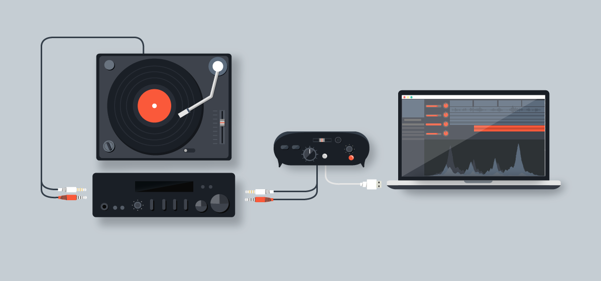 How to Record Vinyl Records into a Computer | B&H Explora