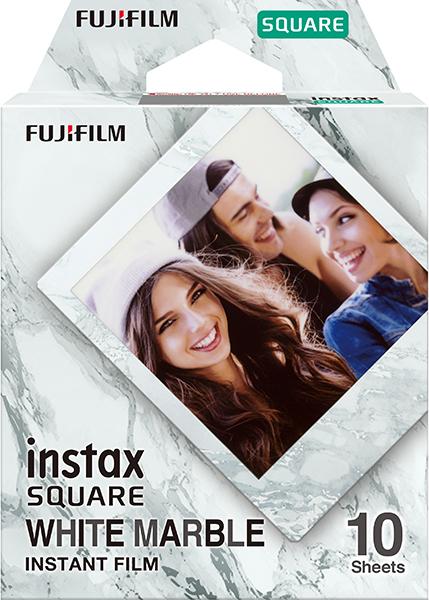 FUJIFILM INSTAX SQUARE White Marble Instant Film
