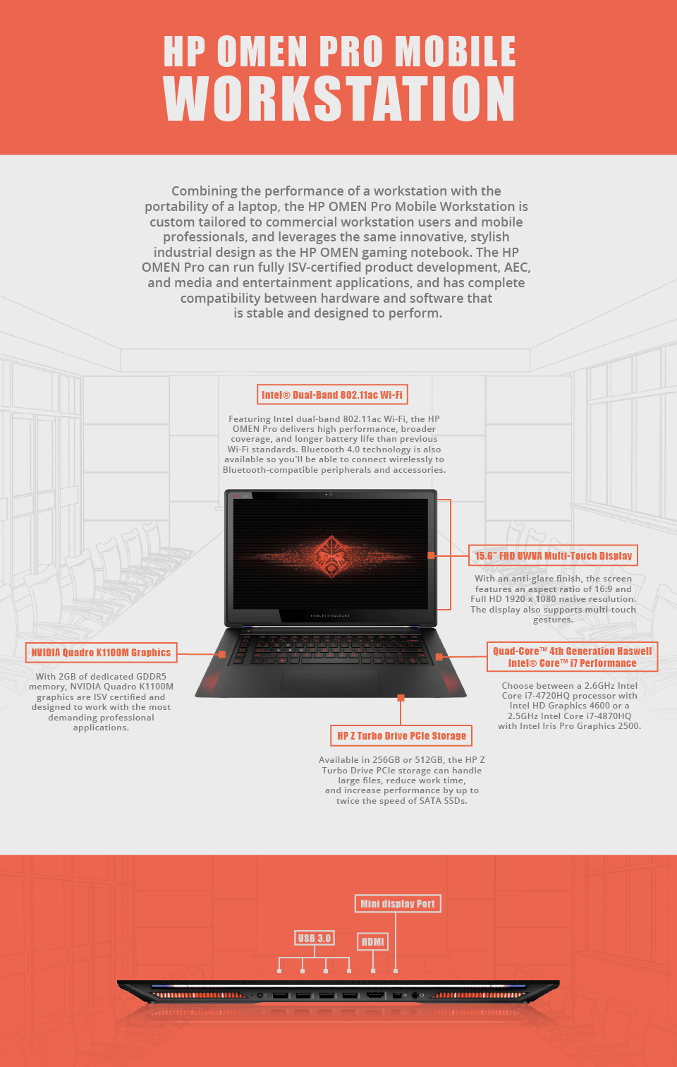 how to open the hp omen pro