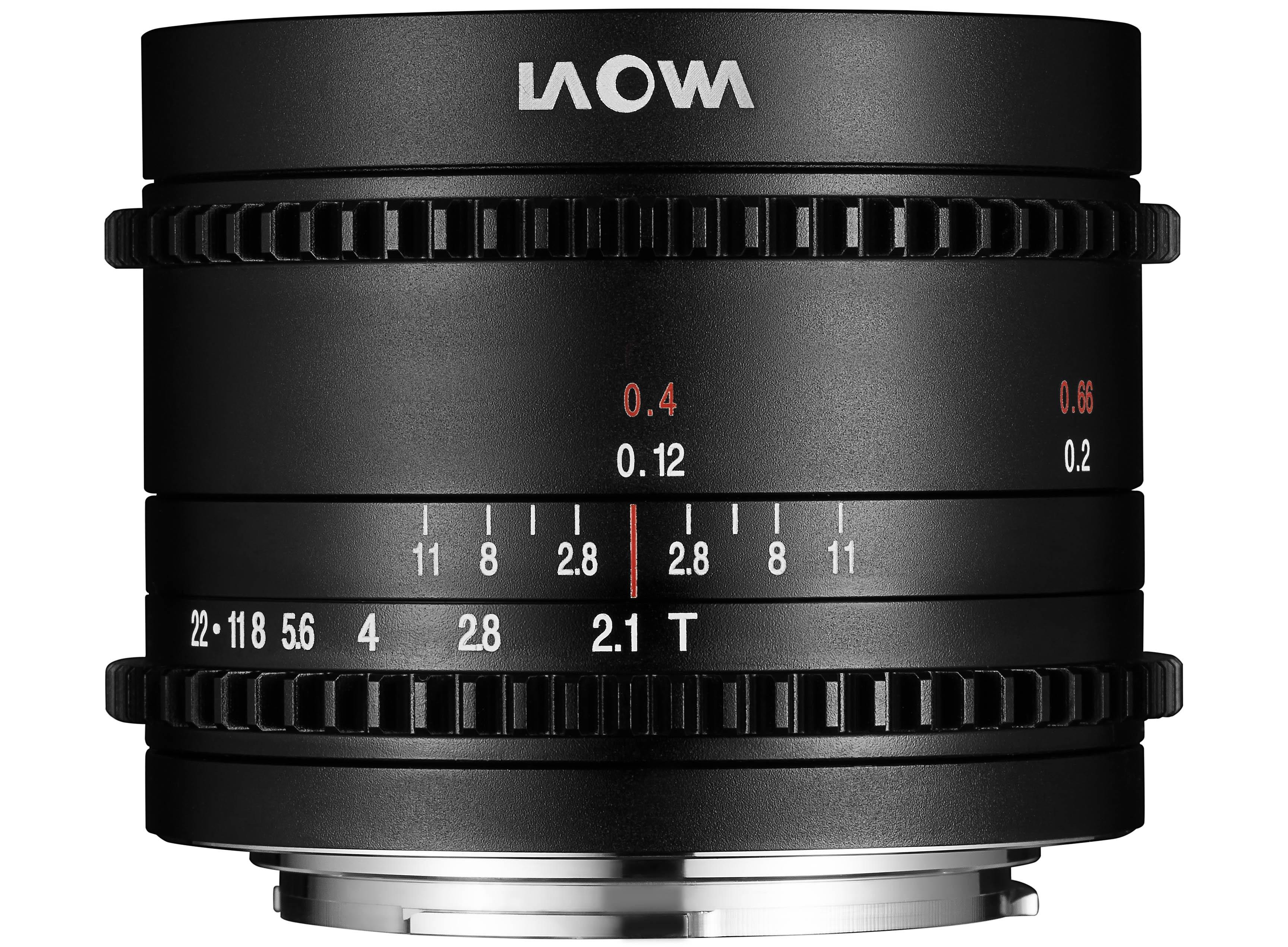 Laowa 7.5mm T2.1 Cine for MFT