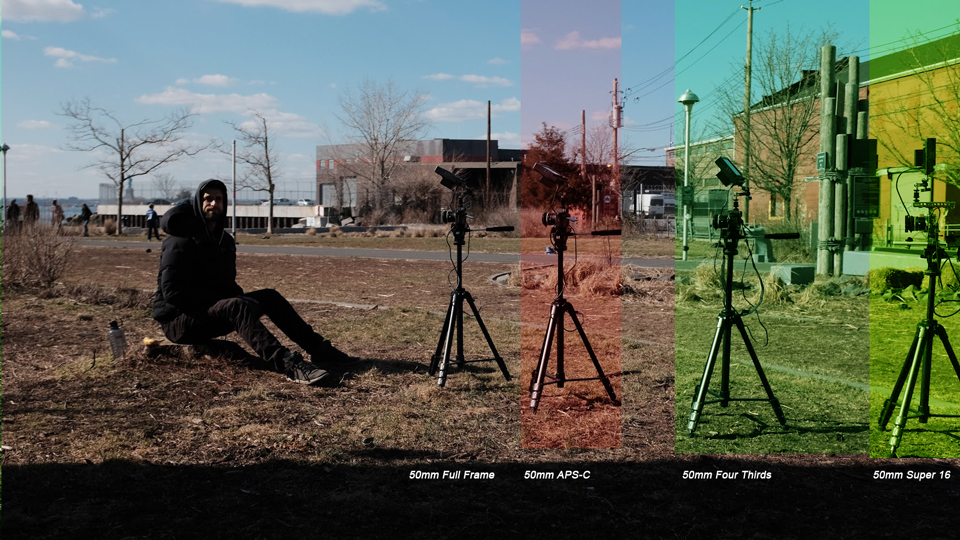 Filmmaking Test How Format Size Affects Your Focal Length