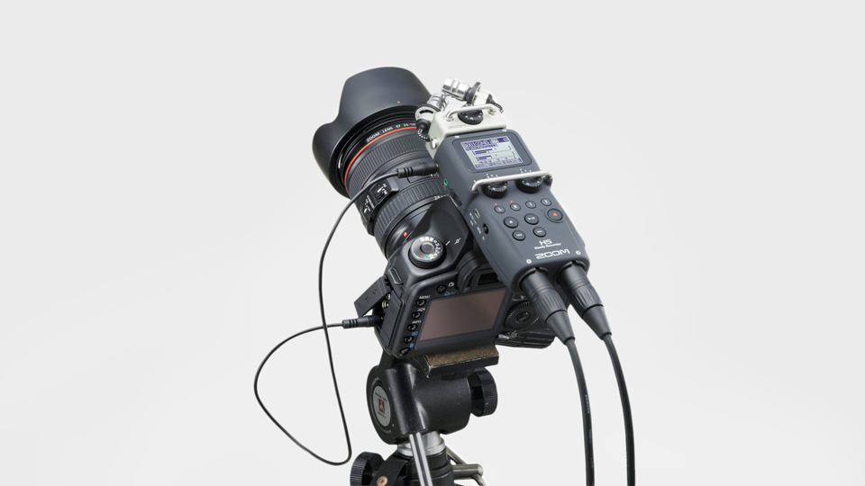 How To Use A Portable Audio Recorder On A Video Shoot B