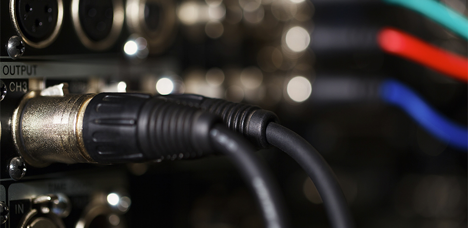 an xlr cable is just a cable  right