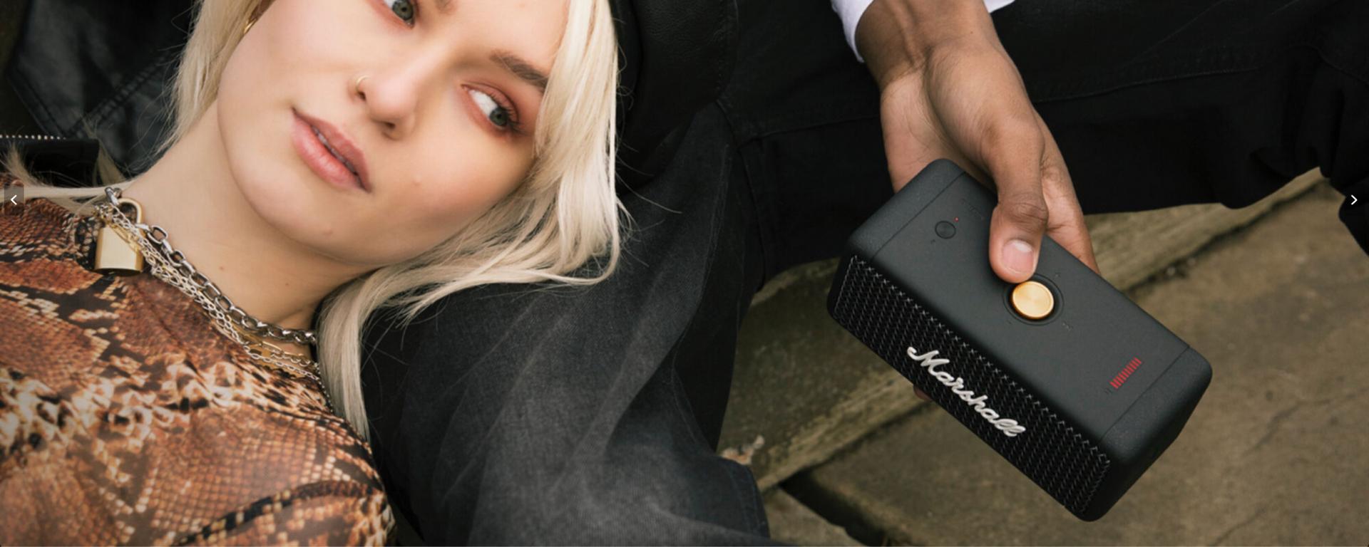 Marshall Emberton Portable Waterproof Wireless Speaker