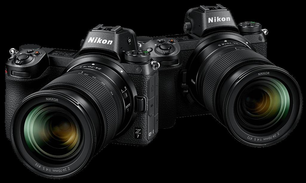Nikon Z 7 and Z 6 Mirrorless Digital Cameras