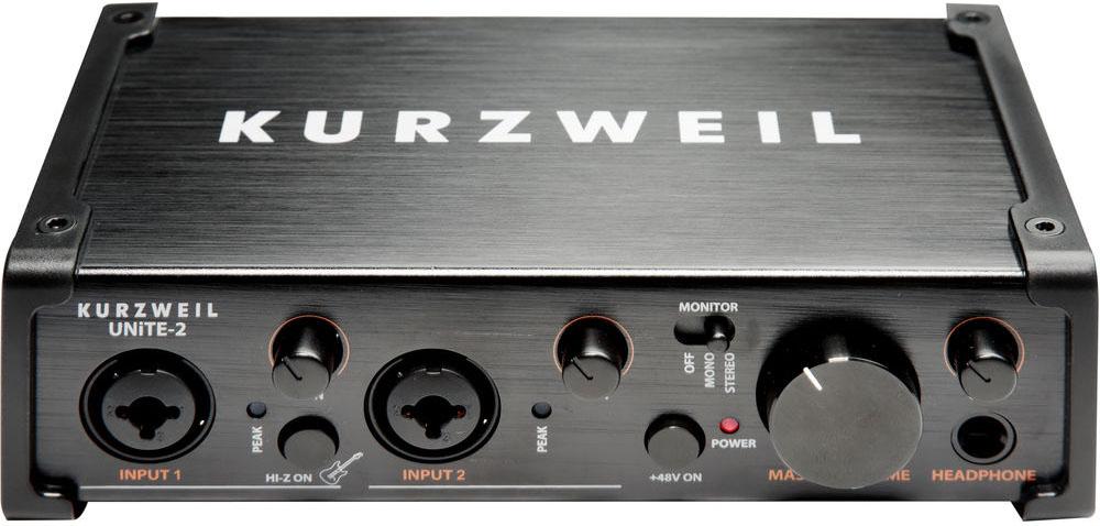 Kurzweil UNiTE-2 Two-Channel USB 2.0 Audio Interface