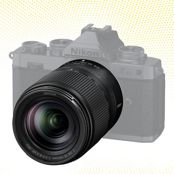 NIKKOR Z DX 18-140mm f/3.5-6.3 VR Lens.