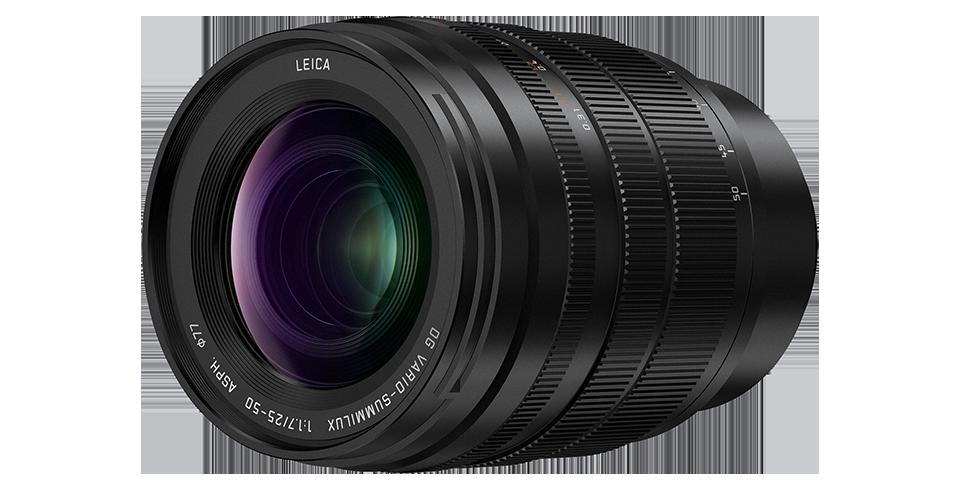 Panasonic Leica DG Vario-Summilux 25-50mm f/1.7 APSH. lens