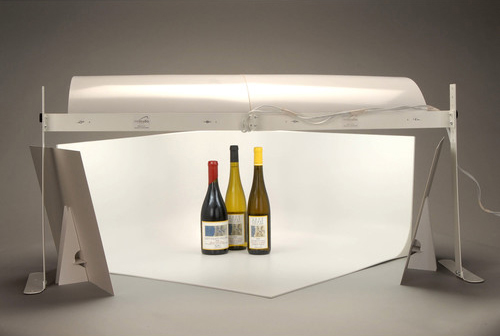 Regardless of whether these bottles are for sale, or for accompanying dinner later, photographing them can be fun!
