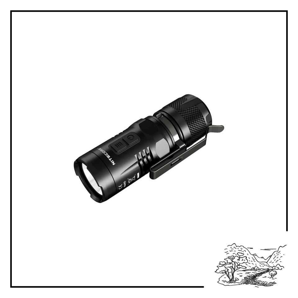 Nitecore EC11 Explorer LED Flashlight