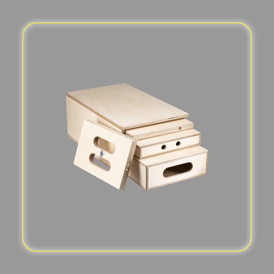 Kupo 4-In-1 Nesting Apple Box Set