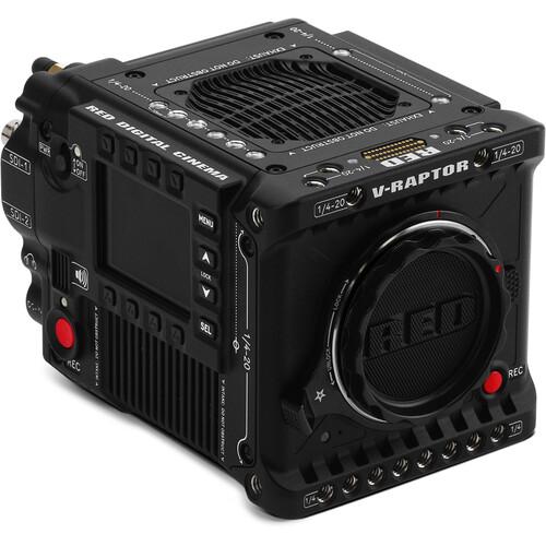 RED V-RAPTOR 8K VV cinema camera in black