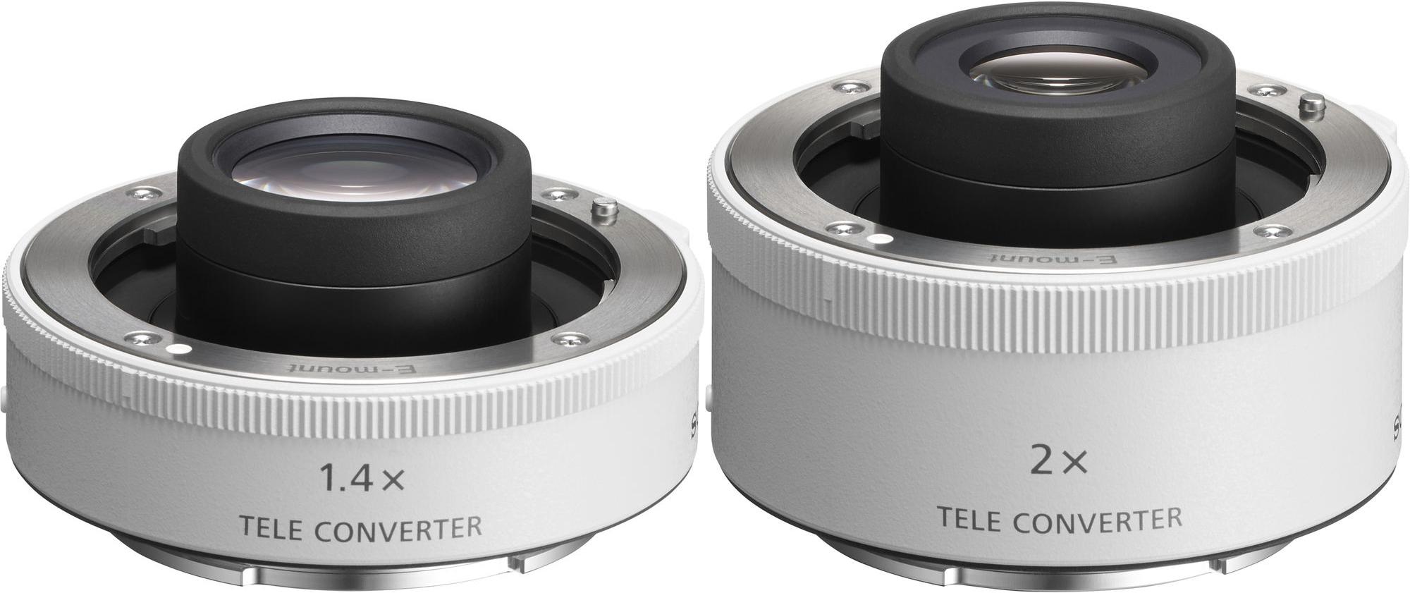 Sony FE 1.4x and Sony FE 2.0x Teleconverters
