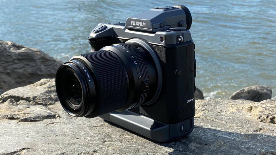 FUJIFILM GF 30mm f/3.5 R WR Lens on a FUJIFILM GFX 100