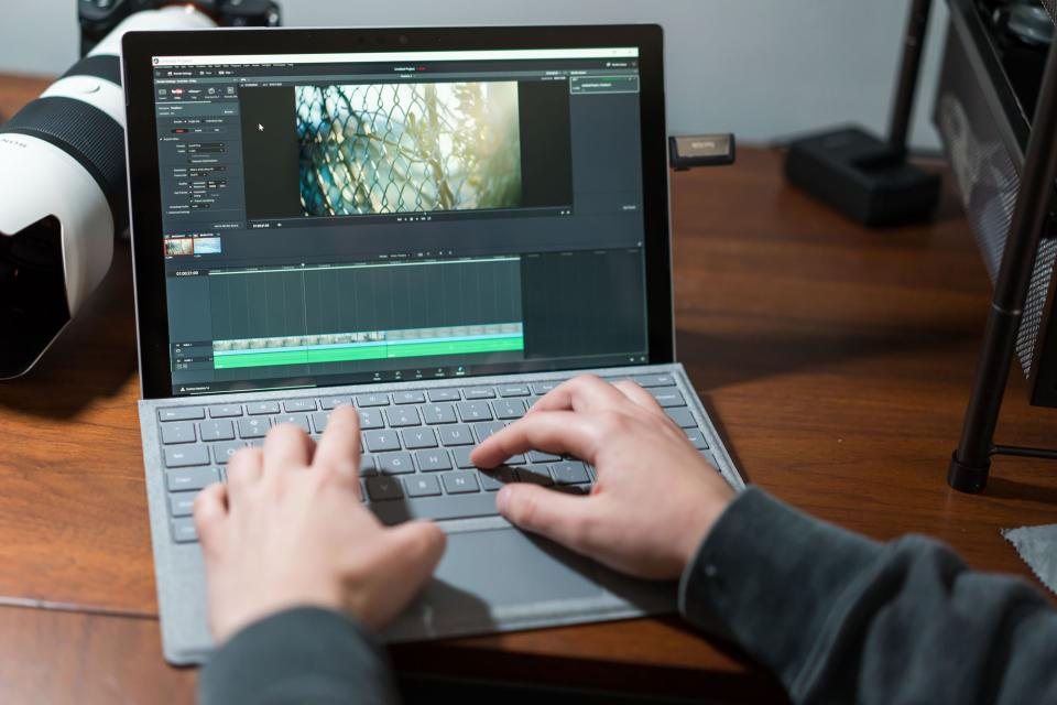 Microsoft Surface Pro, an Ideal Mobile Video Editing Machine