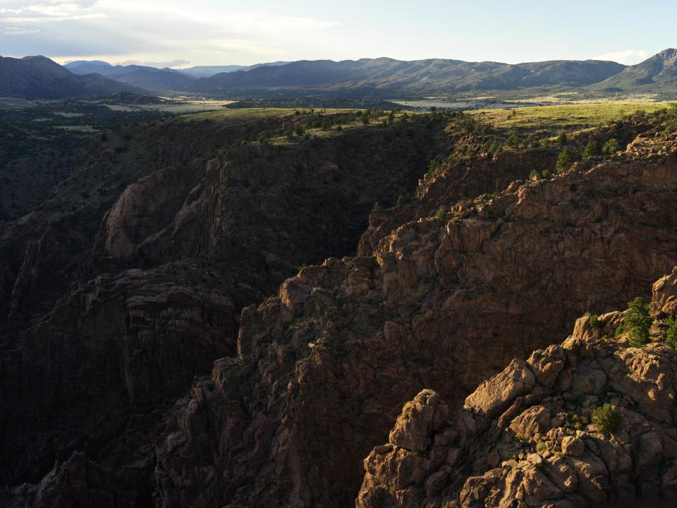 Royal Gorge at Sunset