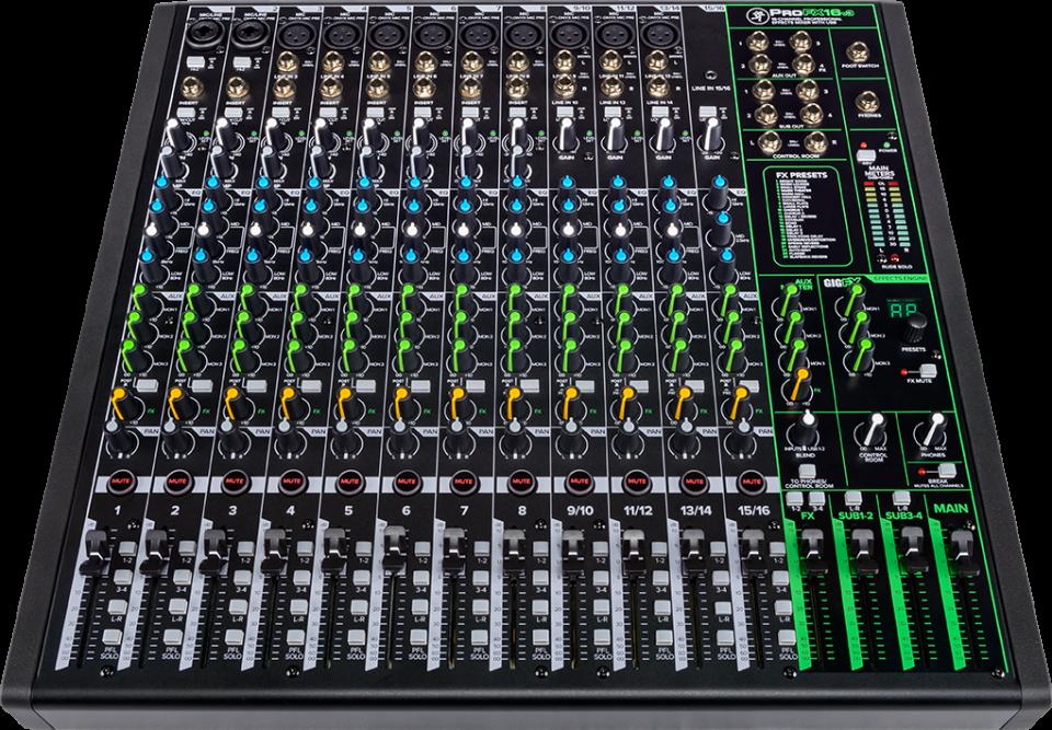 Mackie ProFXv3 Series mixers