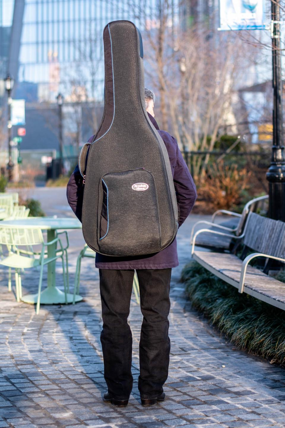 For packing your guitar around town, nothing beats the RB Continental Voyager.