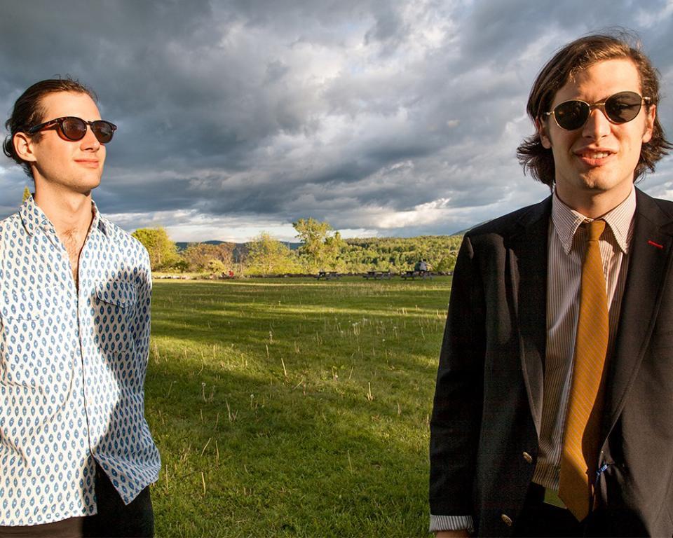 Nicolas and Adrien at Bennington, from Twenties Tribe, 2014