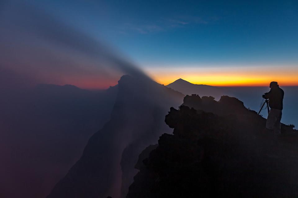 On the summit of Mount Nyiragongo, Virunga National Park, North Kivu, Democratic Republic of Congo.  Canon EOS 5DS R, EF24-70mm f/4L IS USM lens, f/9 for 2 seconds, ISO 400