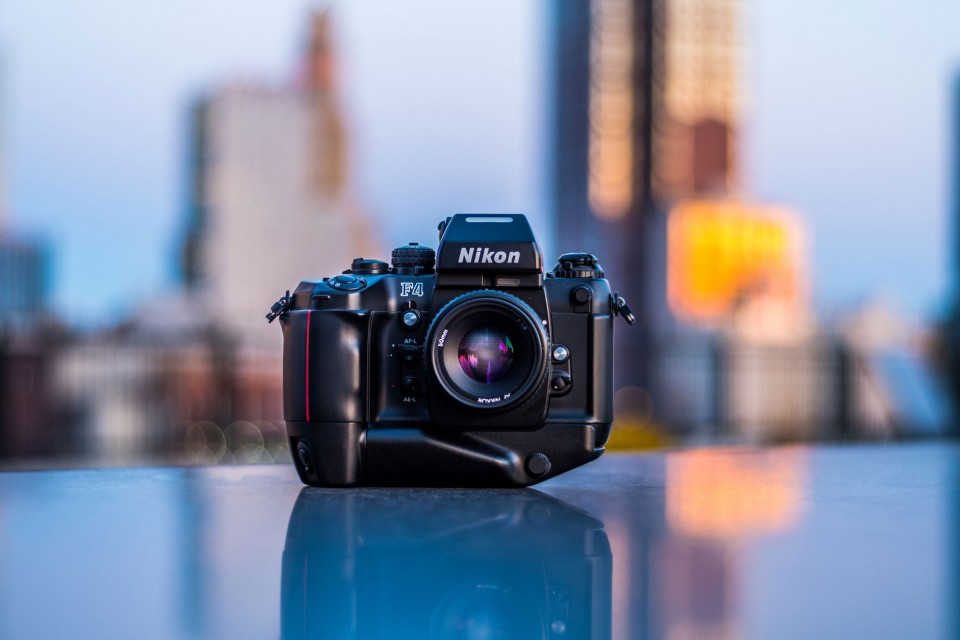 This Nikon F4 was found online for a fraction of its cost when new.