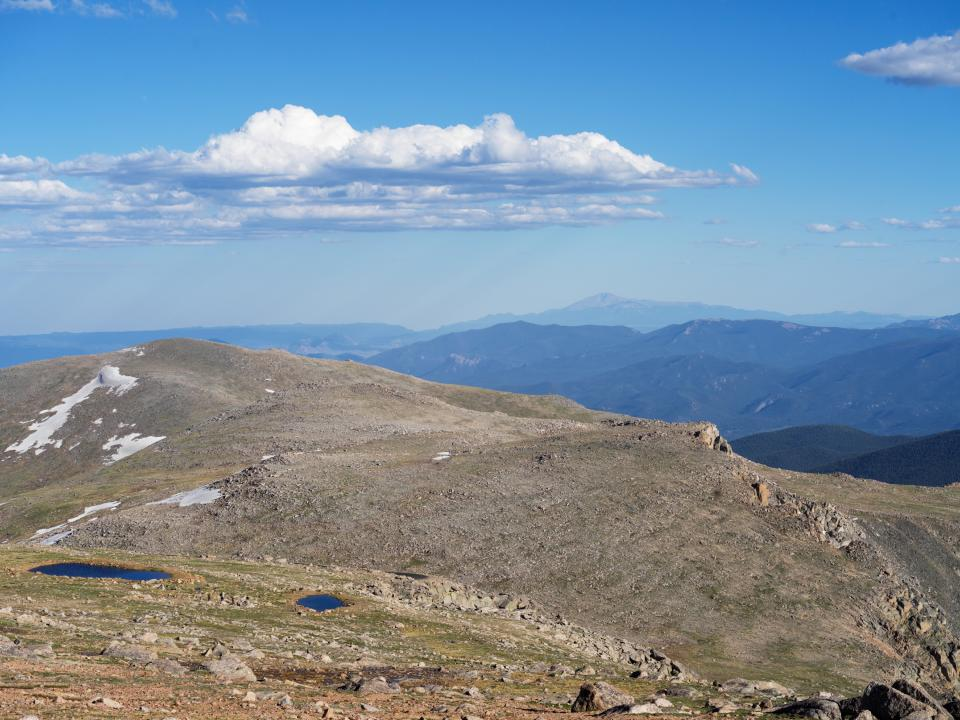 Mount Evans above tree line