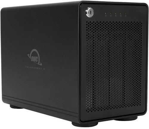 OWC ThunderBay 4 Four-Bay Thunderbolt™ 3 RAID 0 Enclosure