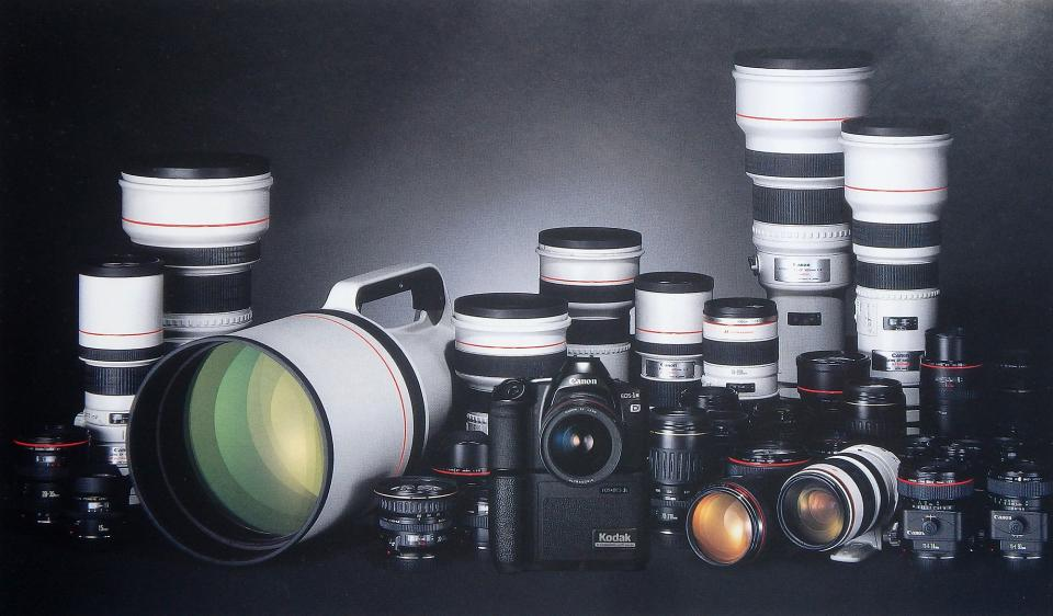 Lens selection was just as important 25 years ago as it is today. The difference is that today we have twice as many lens choices (and that's not counting third-party options).