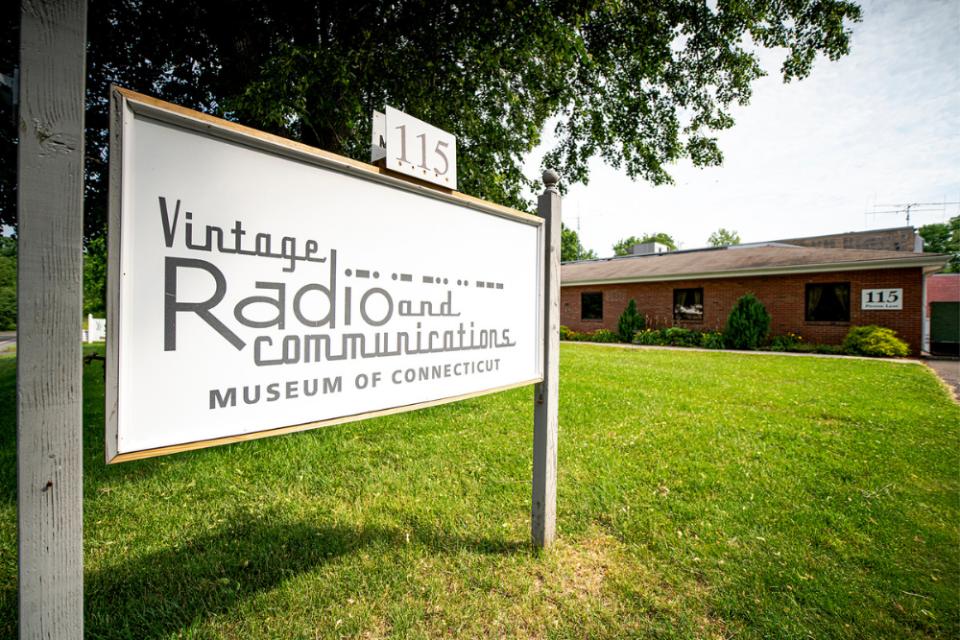 The Vintage Radio and Communications Museum of Connecticut, located in Windsor, CT, is chock full of the machines and assorted vintage devices that played tunes that were hits before your mother was born.