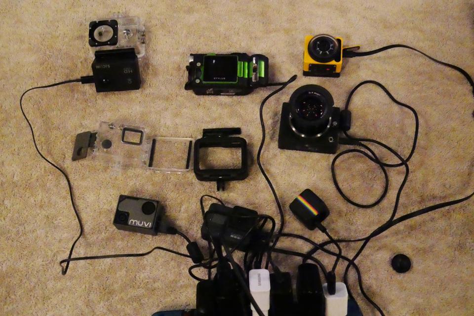 Chaos ensues when charging