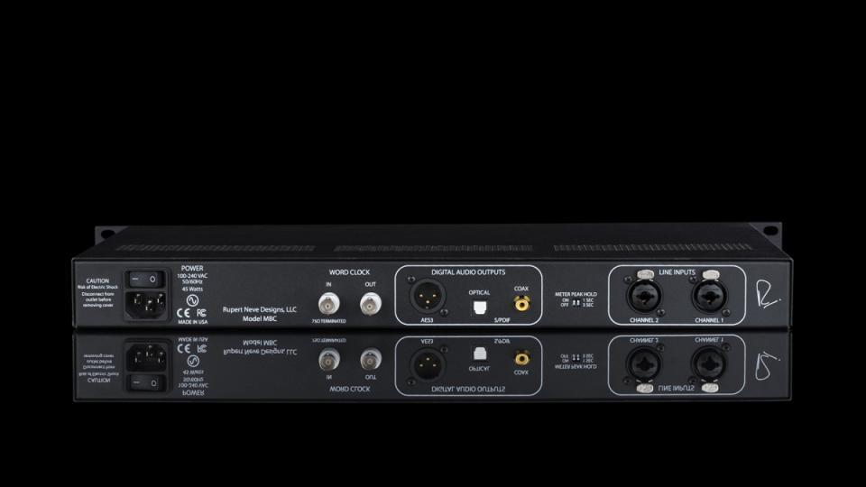 Rupert Neve Designs Portico II MBC Master Buss Converter Dual-Path A-D Converter and Limiter