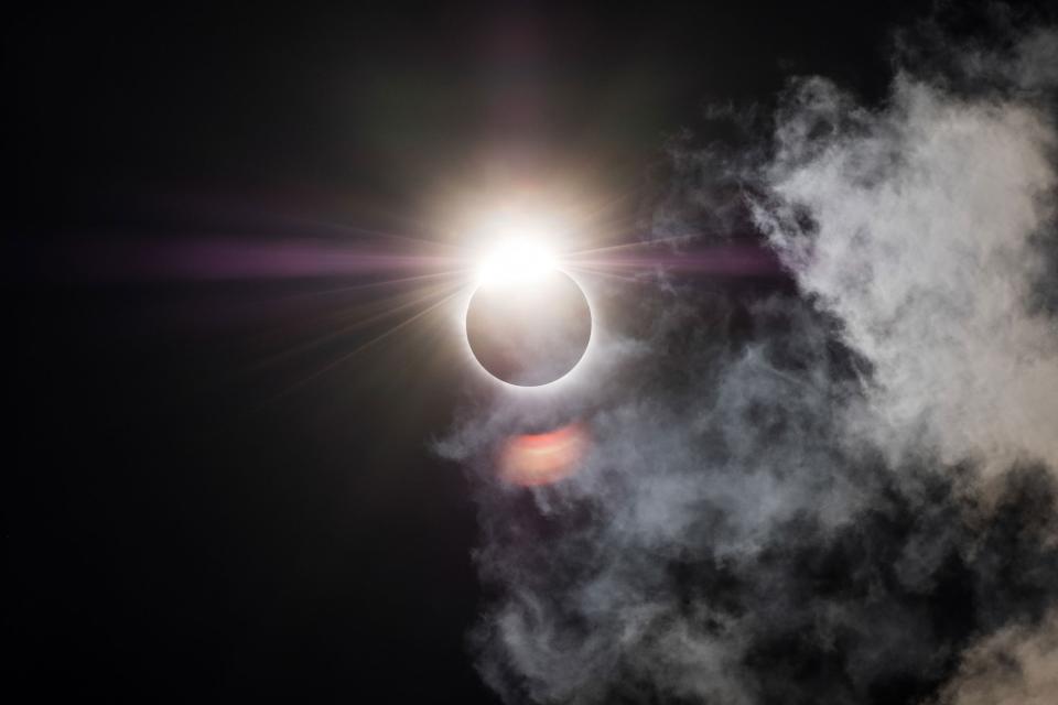 My favorite solar eclipse photo ever © Todd Vorenkamp