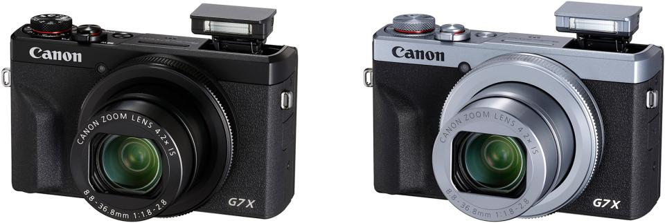Canon PowerShot G7 X Mark III in Black & Silver