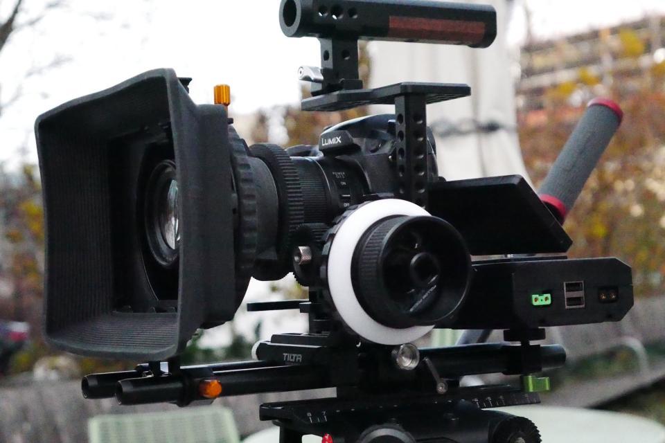 Built camera rig