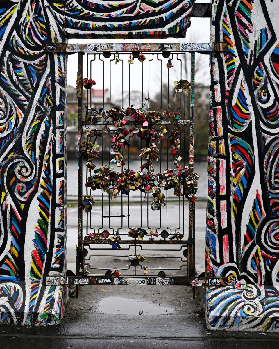 Locks on the Berlin Wall