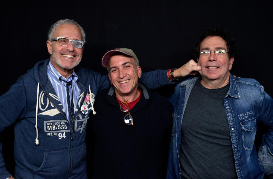 (Left to right): Jordan Schaps, Allan Weitz, Aaron Rezny Photograph © John Harris