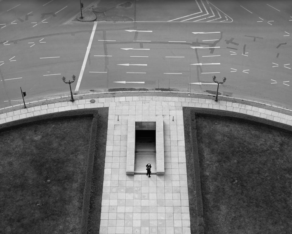 Looking Down from the Siegessäule