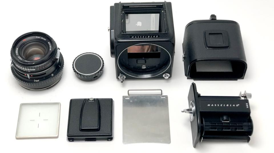 The modular design of the Hasselblad 500C/M is just one of the reasons pro shooters readily embraced the Hasselblad system.