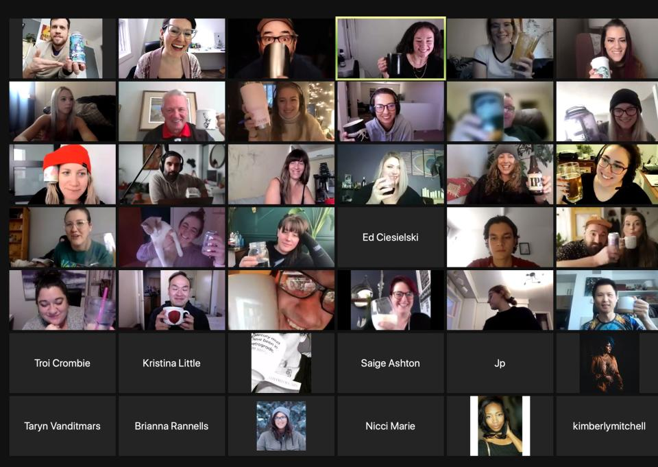 A small sampling of faces and names in attendance during a recent C+C hang