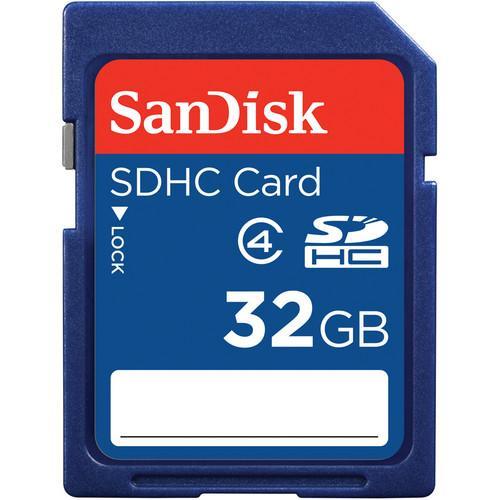 SanDisk 32GB SDHC Class 4 Κάρτα μνήμης