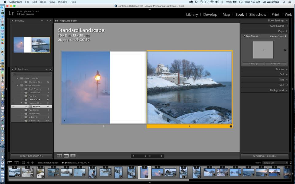 How to Make a Photo Book with the Adobe Lightroom Book
