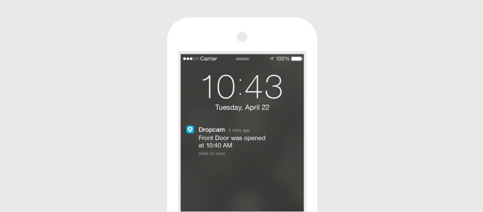 Keep Tabs on Doors, Windows, and Dogs with the Dropcam Tab